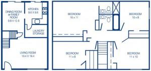 Four Bedroom