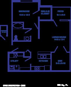 One Bedroom + Den (New Construction)